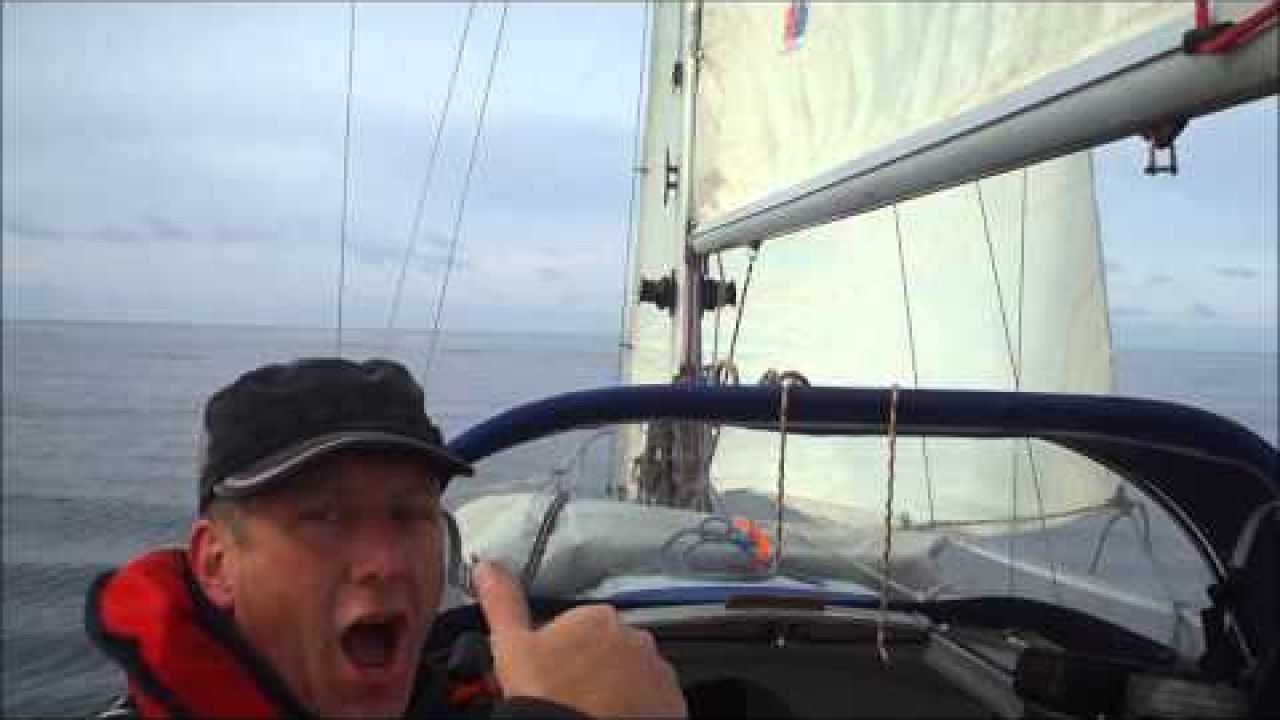 SAIL CANCER, Day 3, Single handed Sailing around Ireland