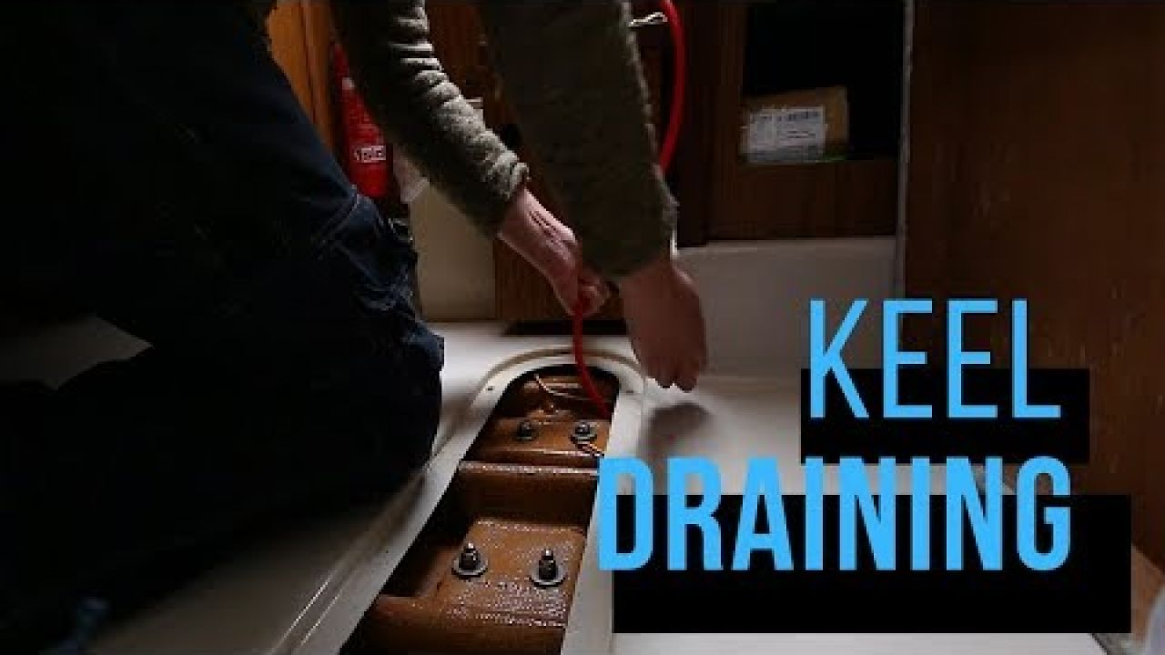 💦 Draining out my keel, cause of watertank overfill... ep.5