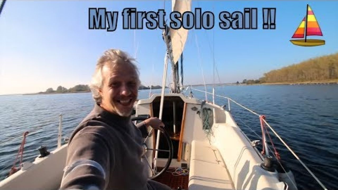 ⛵ My very first sail as a solo sailor - troubles with the gearbox of Dehler Delanta 76 - ep.1