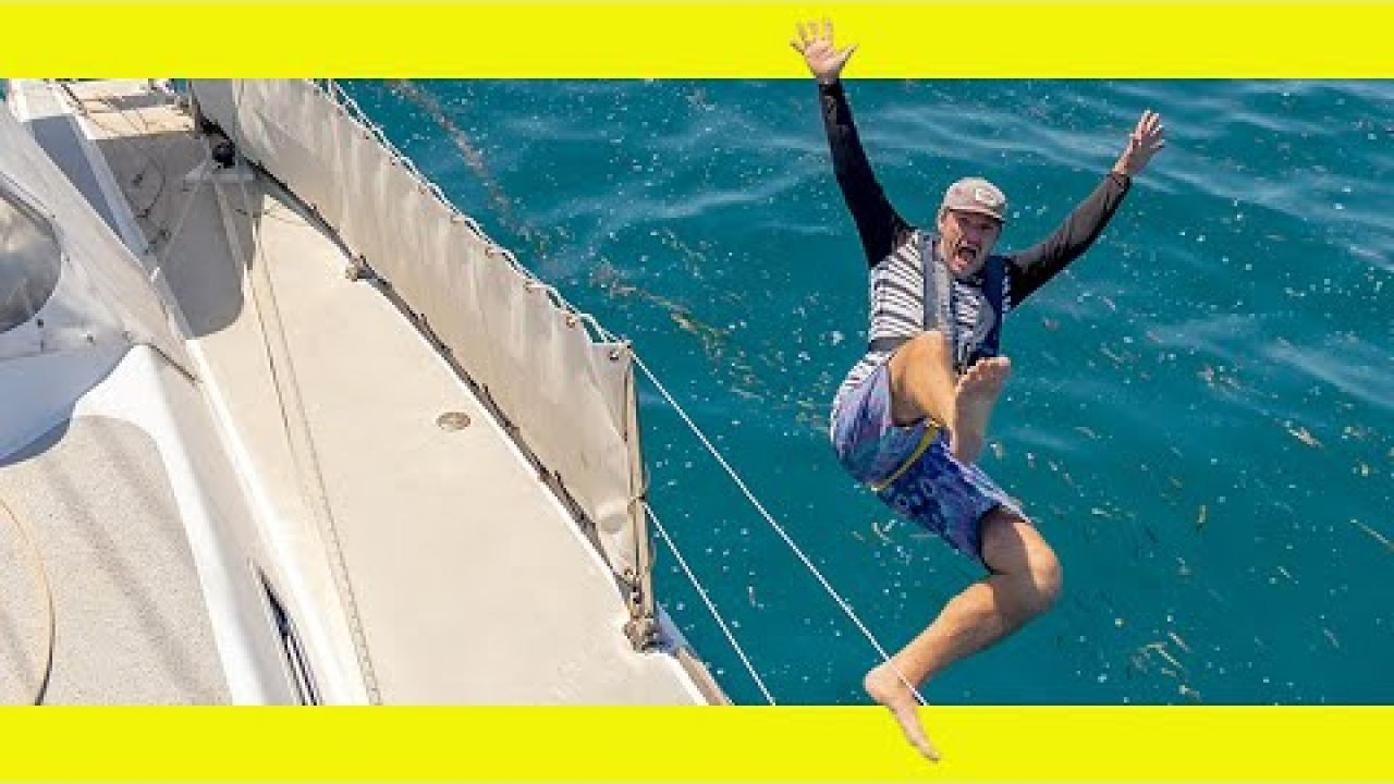 Man OVERBOARD! What would you do? (Learning By Doing Ep149)