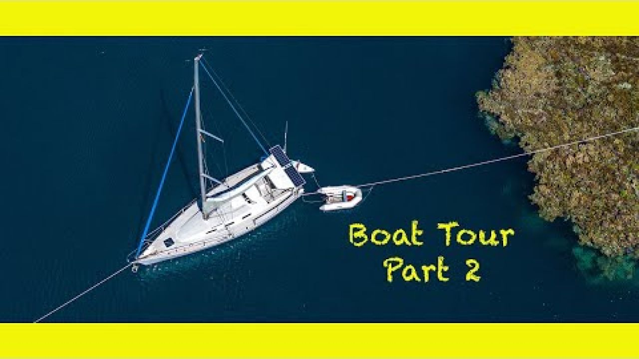 Inside my tiny floating home Part 2. Solo Sailing Indonesia (Learning By Doing Ep 102)