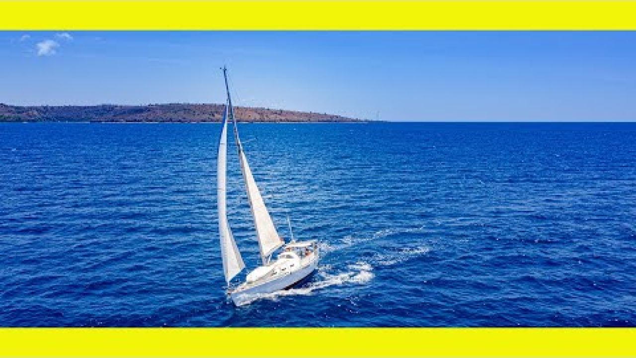 Sailing to Moyo Island & its amazing waterfall. (Sailing Learning By Doing Ep129)