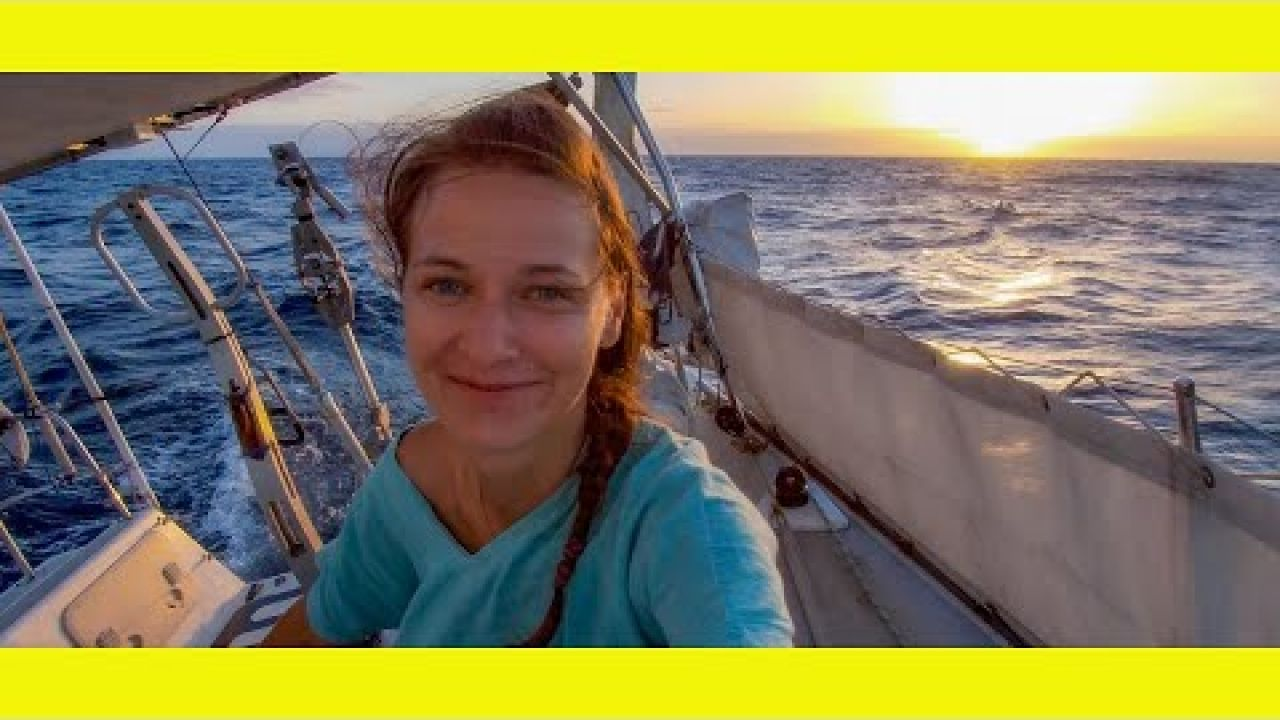 Sailing in a 50 knot Squall and 365 miles in 48hrs. (Learning By Doing Ep 118)