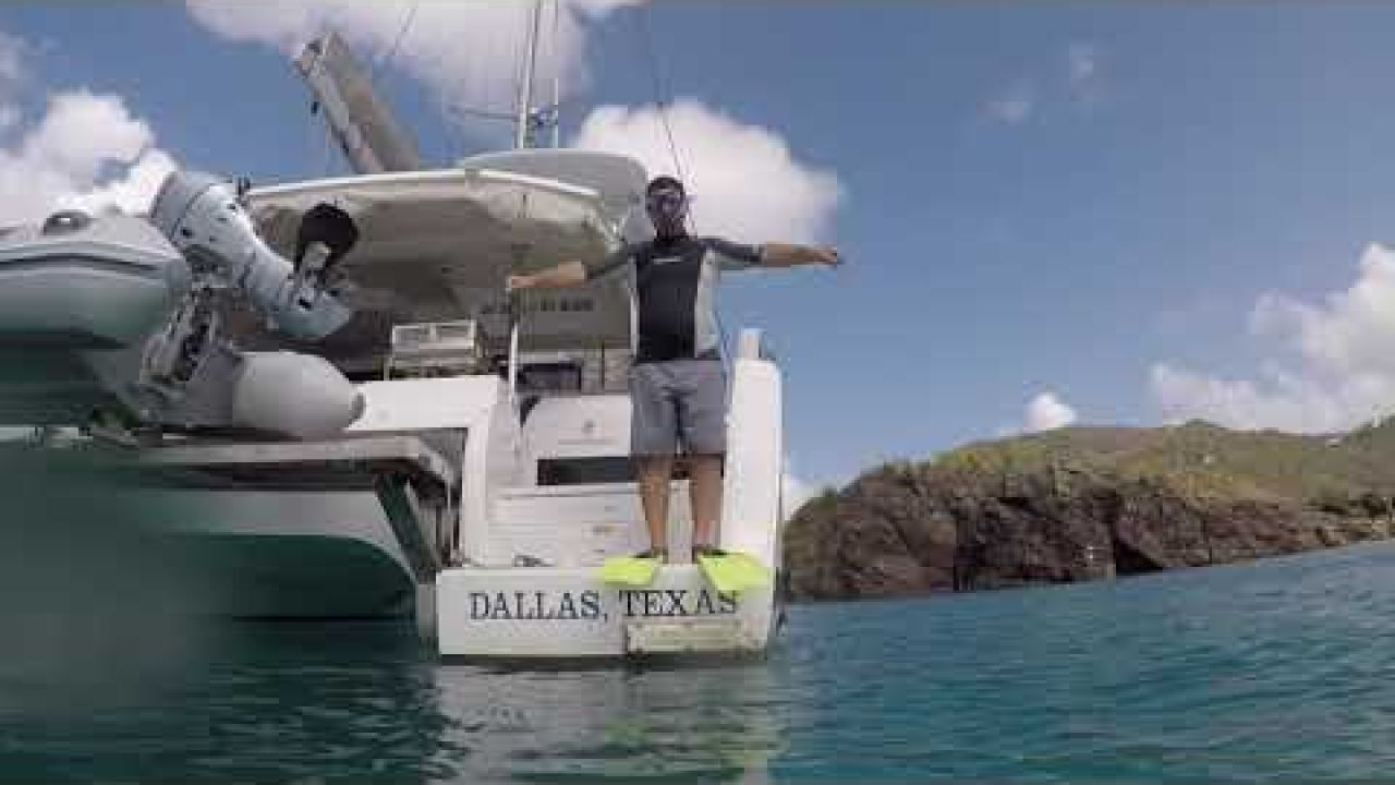 BVIs Episode 4 - Exploring the BVIs by Sailboat - Snorkeling Monkey Point