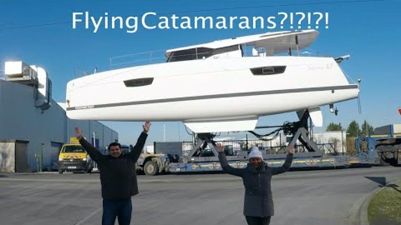 Episode 06 - It's a Bird, It's a Plane, Nope It's Our Catamaran Flying Through La Rochelle