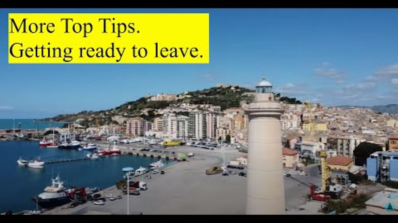 More top tips. Getting ready to leave. Products we use?  OTB 090.