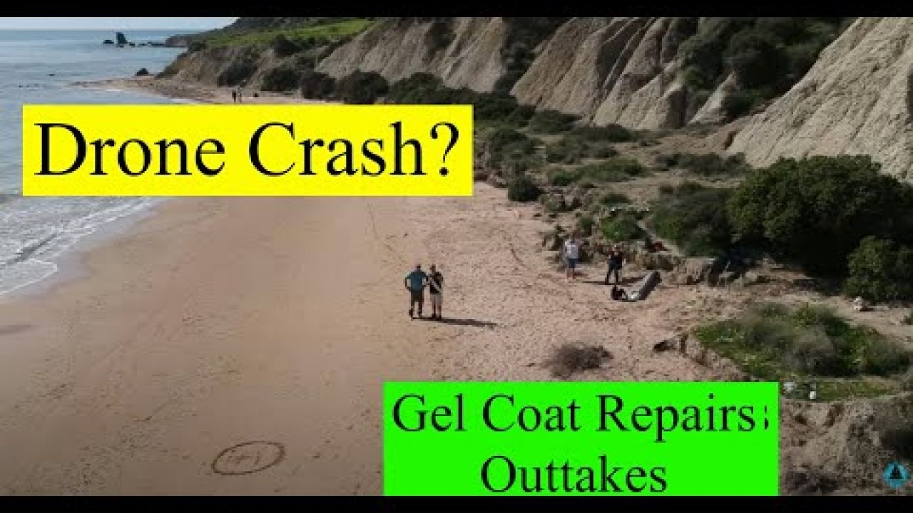 Drone crash? Gelcoat repairs, Outtakes, OTB 85