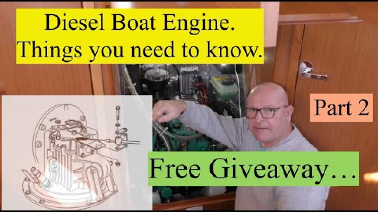 Marine Diesel Engines in Yachts. Things you need to know. (Free Giveaway). Part 2