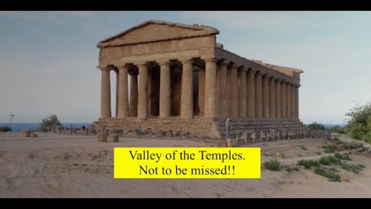 Valley of the Temples. Beautiful Sicily.