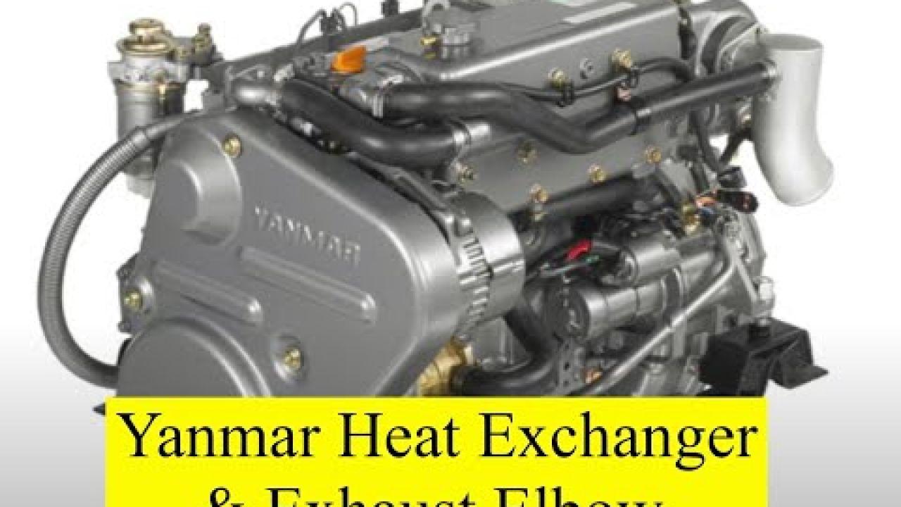 Yanmar Heat Exchanger & Exhaust Elbow