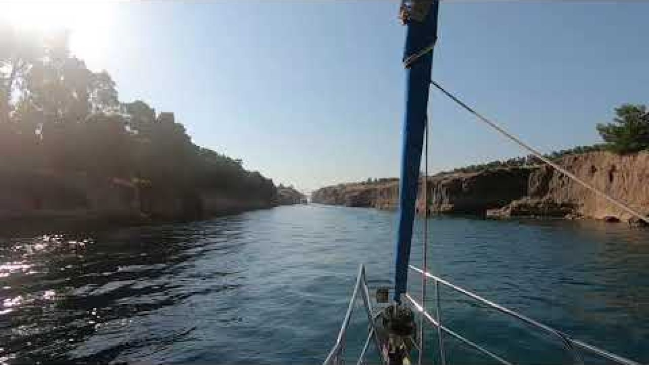 CORINTH CANAL AUGUST 2020