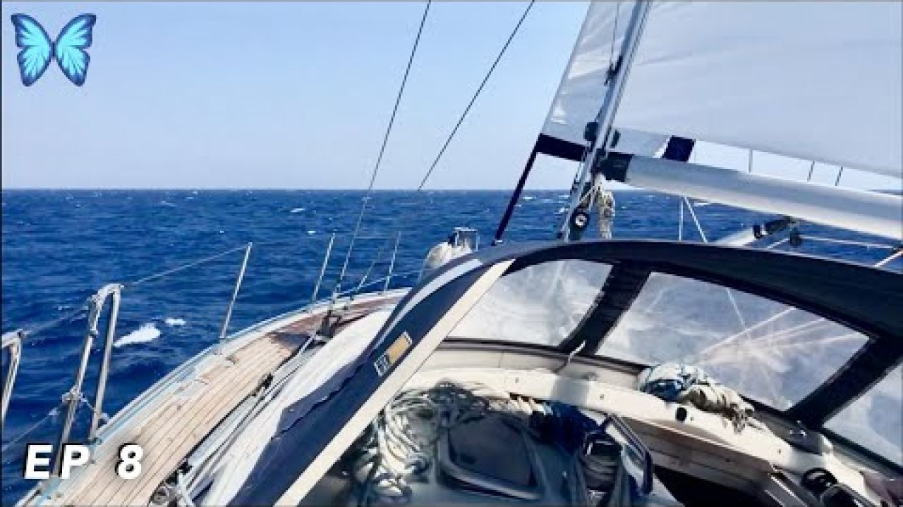 Ep 8 - PETRIFIED at Sea - Sailing the Greek Islands.....we weren't expecting THIS!!!