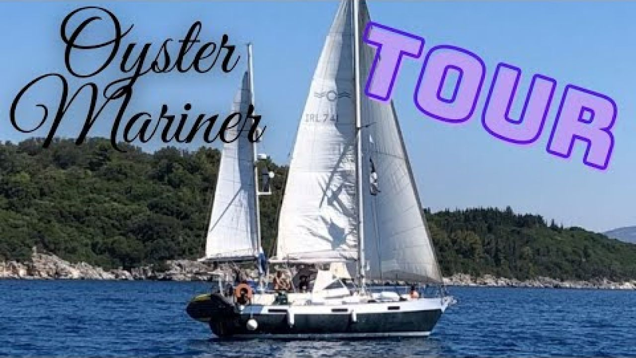 Sailing SV Mutiny 43, Oyster 35 BOAT TOUR