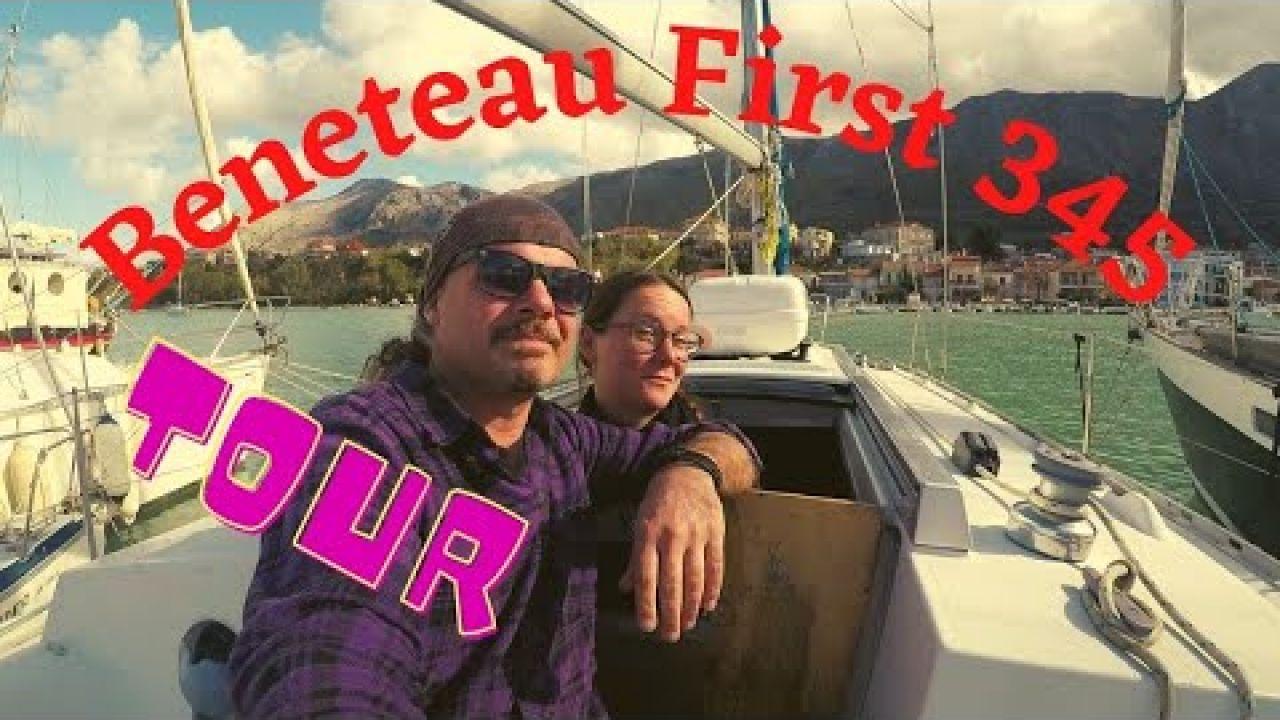 Sailing SV Mutiny, 42 Beneteau BOAT TOUR