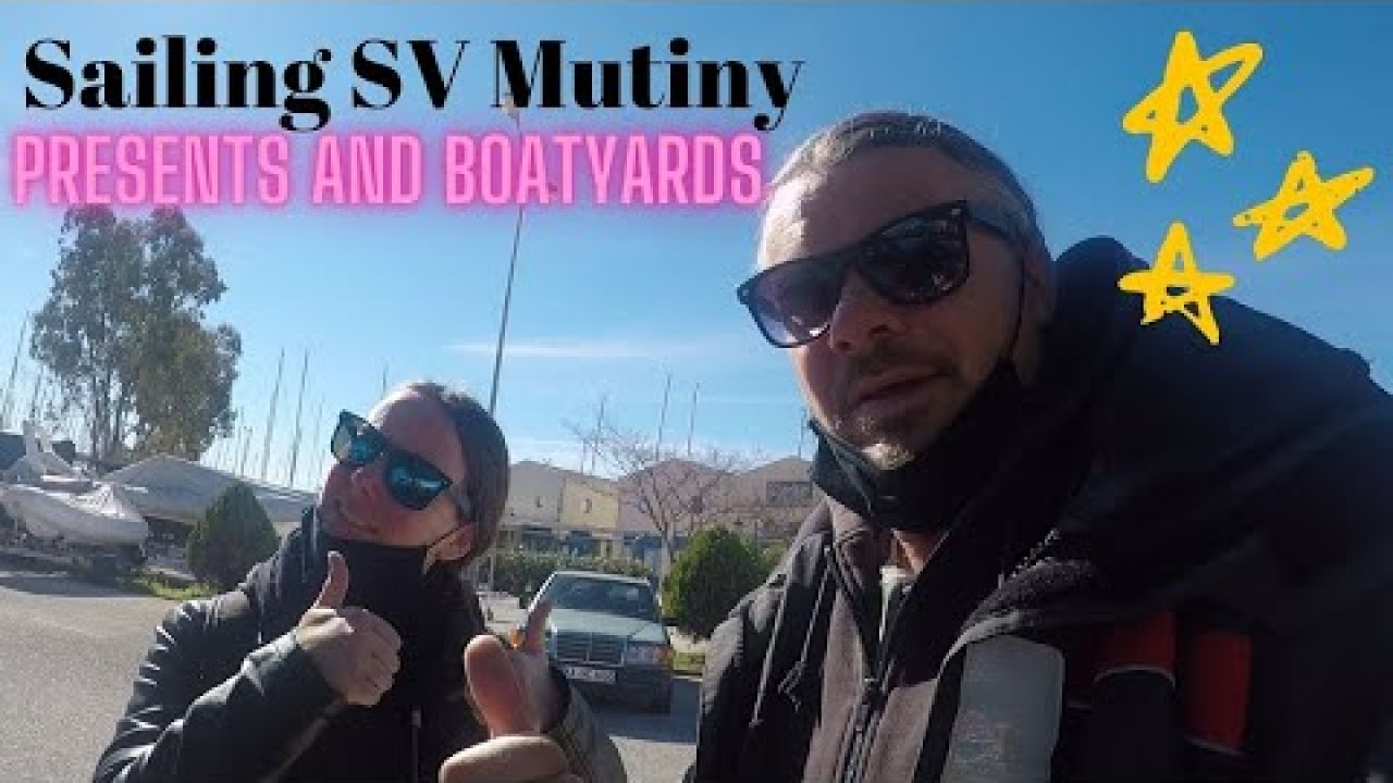 Sailing SV Mutiny 45, presents & boatyards