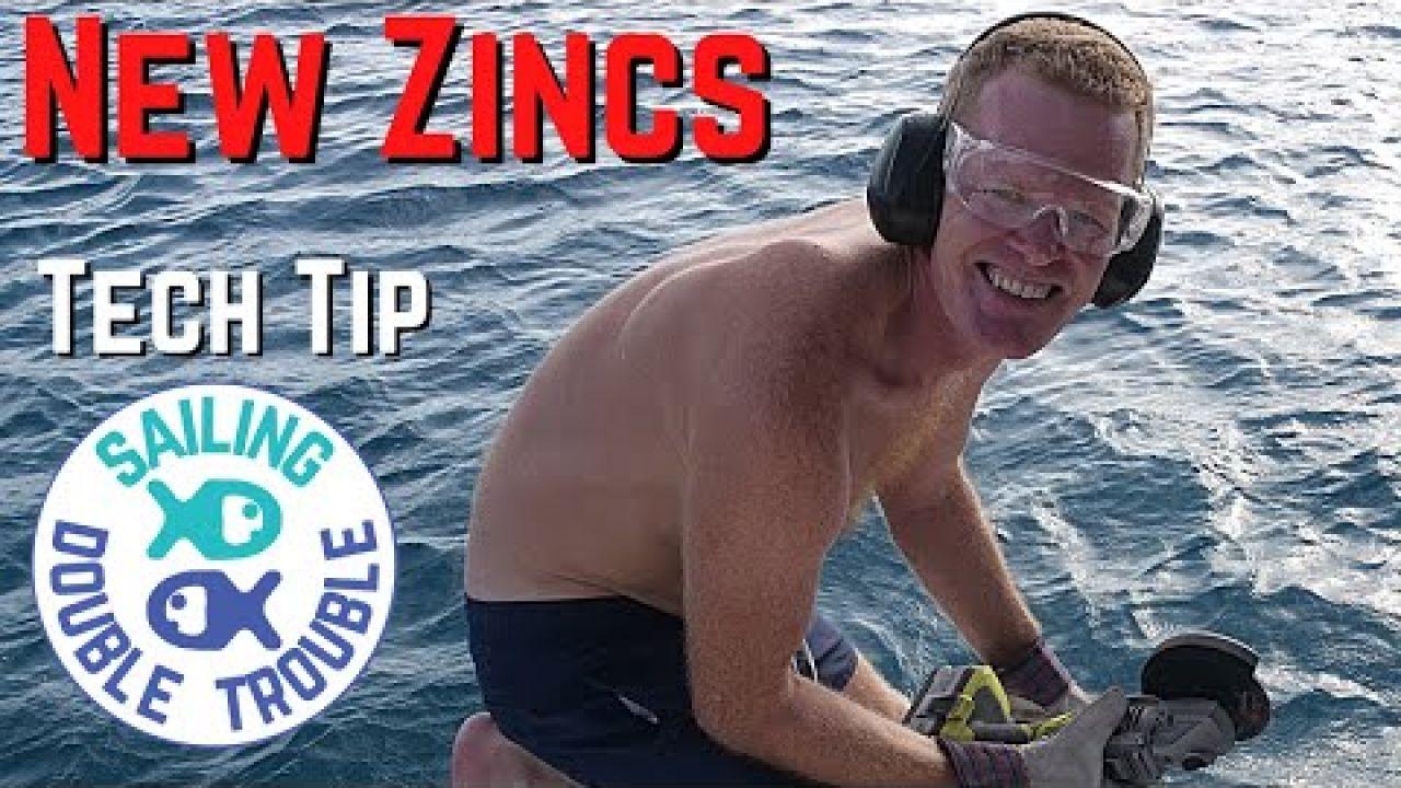 Sailboat, sailing and replacing zincs