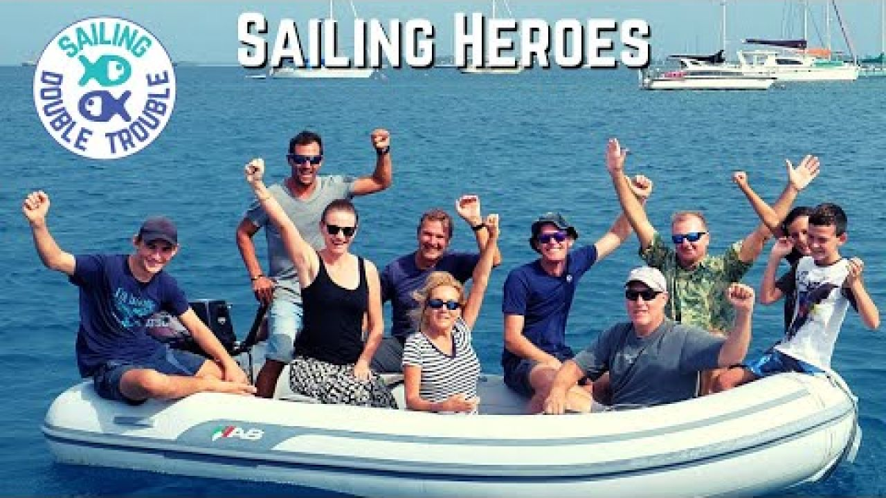 Sailing HEROES, Dinghy Rescue EP74
