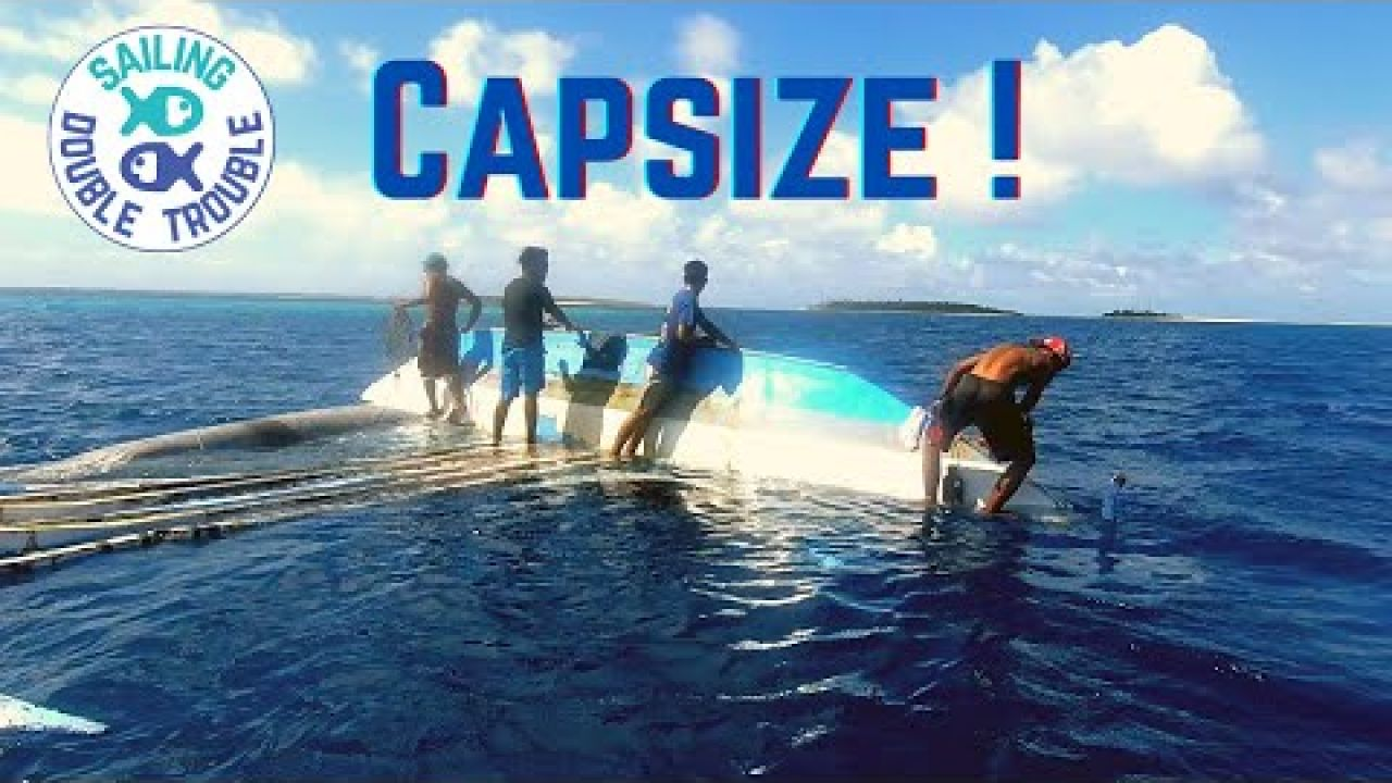 Sailing, Capsize and rescue canoe EP80