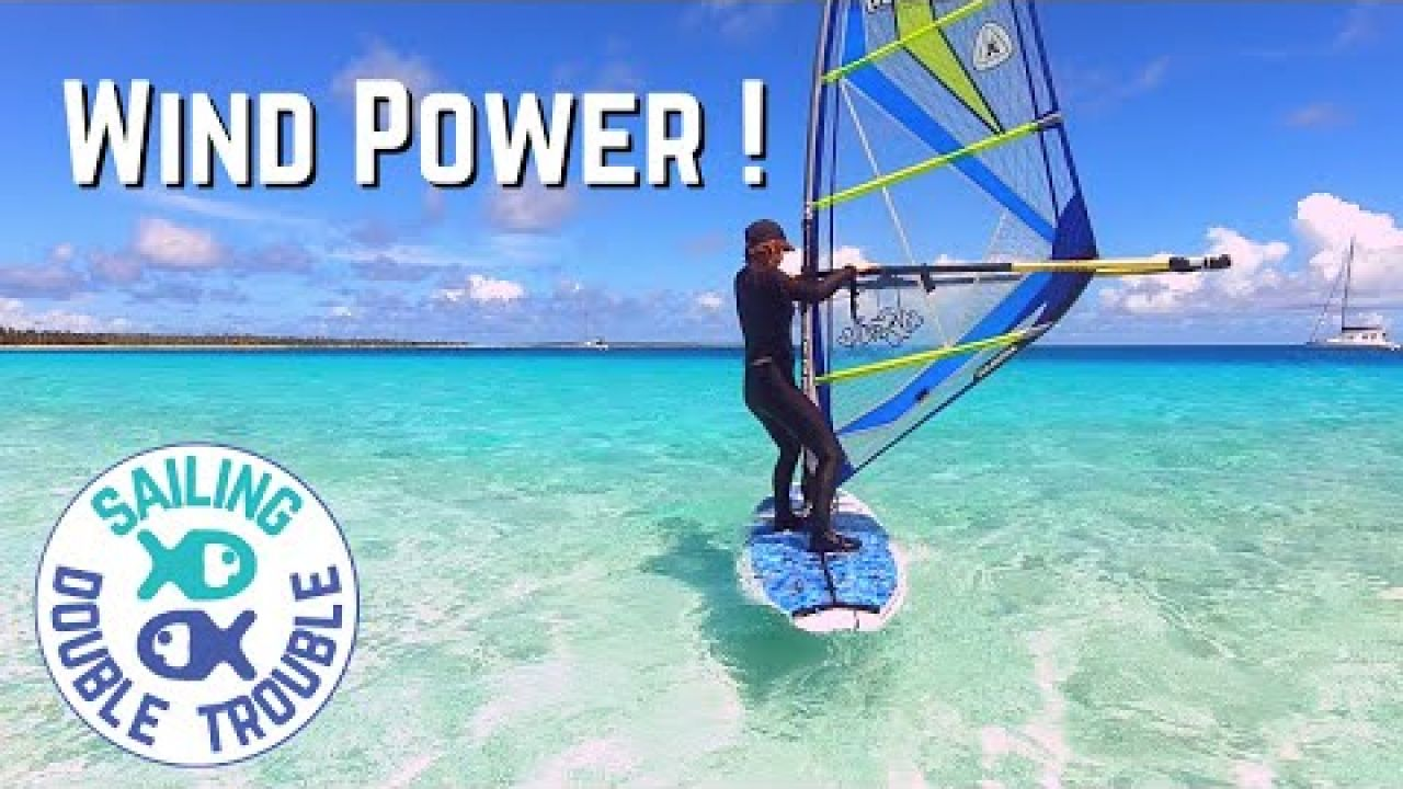 Learning to WINDSURF and Squally Weather  - SAILING LIFE EP82    Marshall Islands