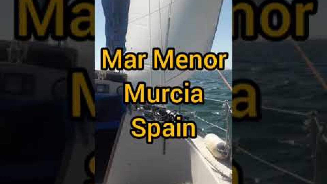 Mar Menor - navegamos con mi perro.