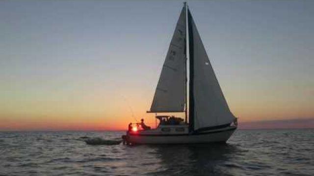 Sailing my boat/sailing windfall to Marathon