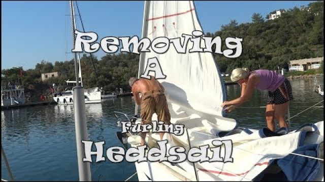 Furling Genoa Headsail Removal