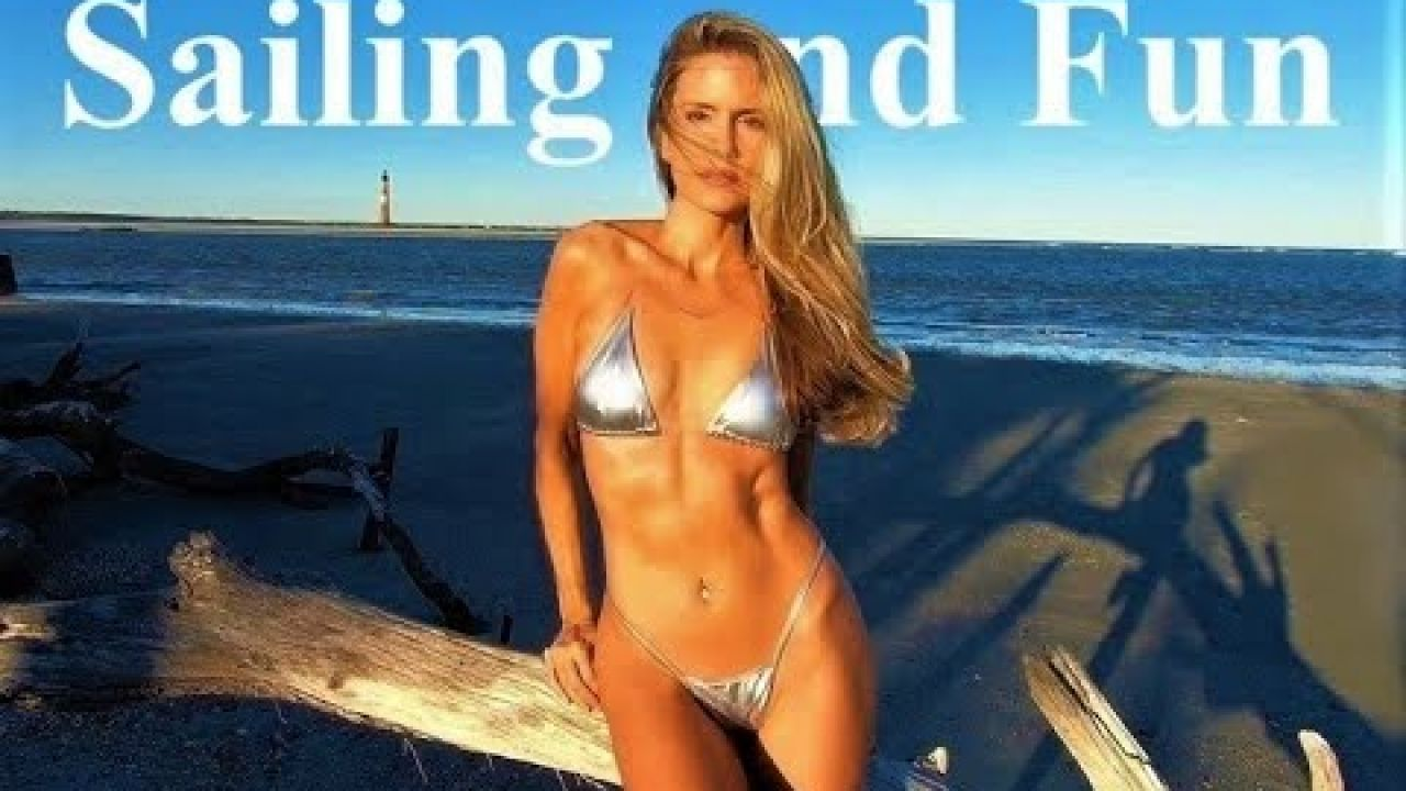 Reflecting on the Crystal Coast - NC- Outer Banks - swimsuit calendar - Sailing and Fun