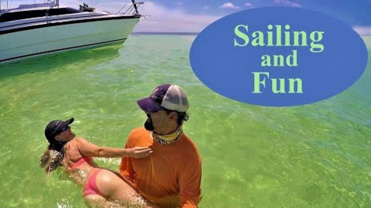 Sailing into the Blue - Sailing and Fun