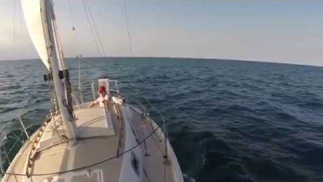 Season 3, Episode 13, sailing Lake Michigan when I should be working!!