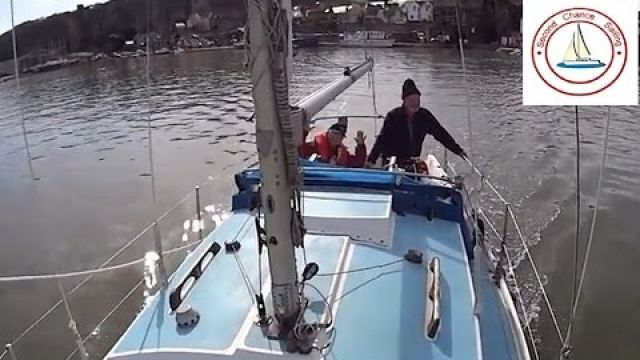 Westerly Centaur Second Chance Sailing first day out