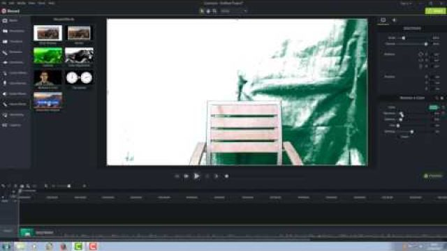 How to use a chroma green screen Second Chance Sailing