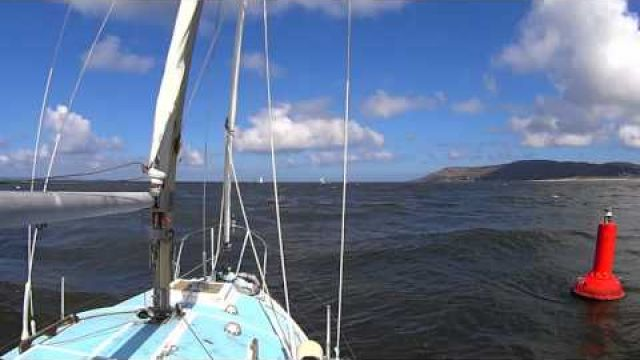Conwy Bar Shaken not stirred Second Chance Sailing