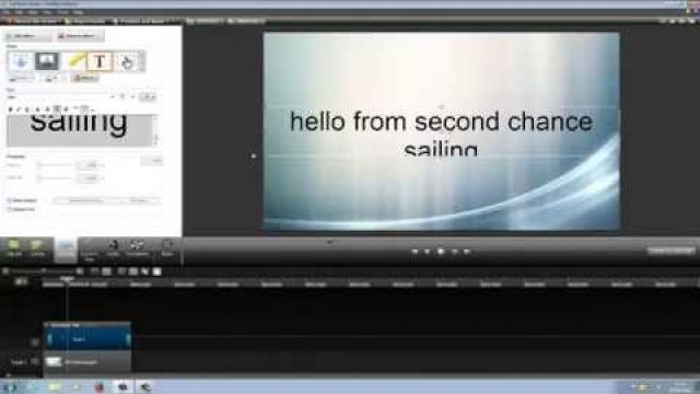 Second chance sailing how to edit videos for upload to YouTube with camtasia studio