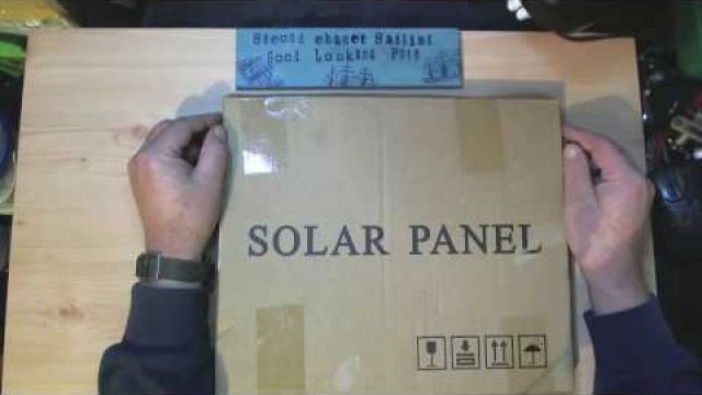 Here comes the sun Second Chance Sailing Solar Panel