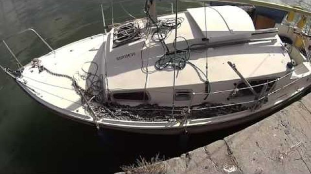 The arrival Second chance sailing - YouTube