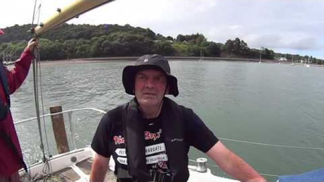 Kevin's trip beau Maris to Conwy second chance sailing