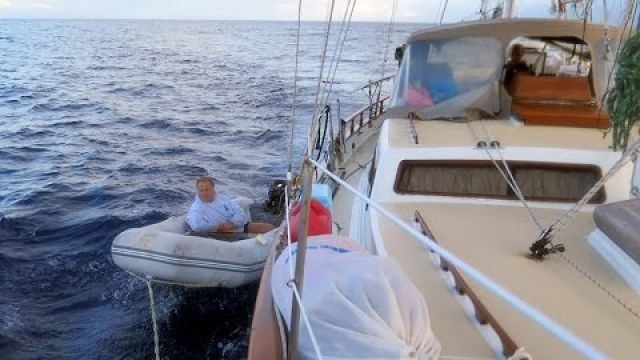This is NOT how we wanted to sail into San Cristobal. (Ep.7) Sailing Galapagos from Mexico
