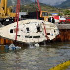 Antirrio, Greece Tragedy - Two dead sailors from bad overnig...