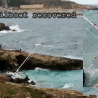 Video : Stolen Sailboat recovered off the coast of Leuca, It...