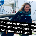 What its like to sail the Atlantic in the Clipper Round the...