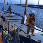 Parrot and 2 sailors rescued off Isle of Sheppey