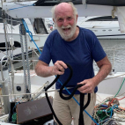 Oldest man to sail around the world solo, non-stop and unass...