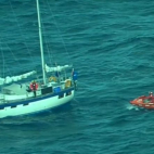 Good samaritan vessels worked together to rescue two British...