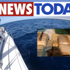 Drug Packages spotted by tourists aboard Estonian sailboat W...