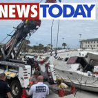 Man caught stealing from beached sailboat claims Maritime la...