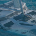 Video : Men in quarantine after Catamaran sank in the Northe...